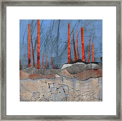 Last Days Of Winter Framed Print by Laura  Lein-Svencner