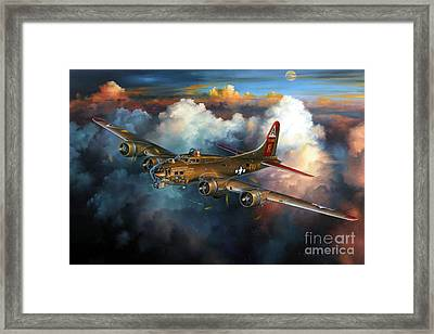 Last Flight For Nine-o-nine Framed Print by Randy Green