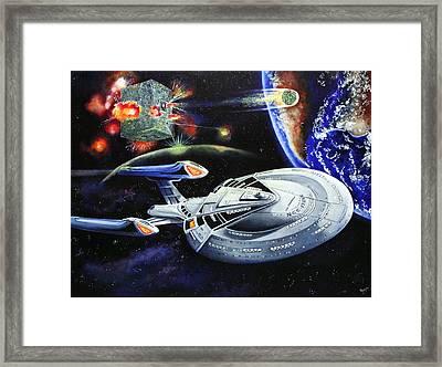 Last Hope Framed Print by Richard Savage