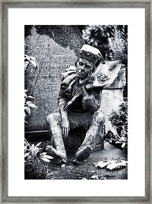 Last Laugh Framed Print by John Rizzuto
