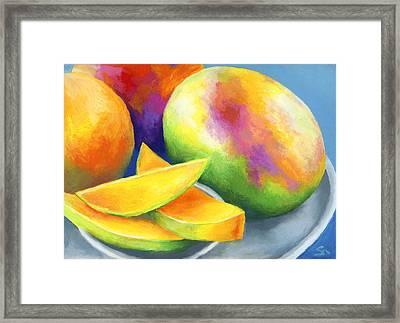 Last Mango In Paris Framed Print by Stephen Anderson
