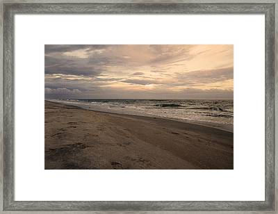 Last Minutes Of The Day Framed Print by Betsy Knapp