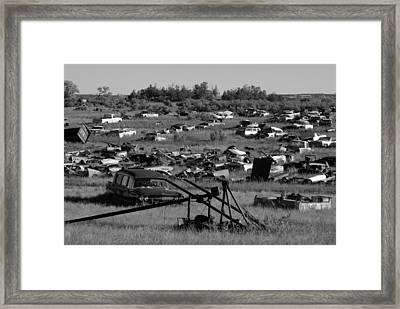 Last Ride Framed Print by David Lee Thompson