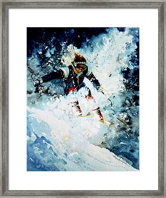 Last Run Framed Print by Hanne Lore Koehler