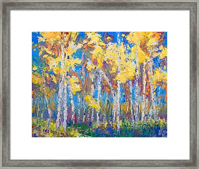 Last Stand Framed Print by Talya Johnson