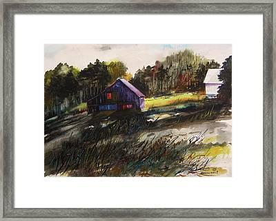 Last Sunlight Framed Print by John  Williams