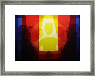 Last Supper Framed Print by Alberto D-Assumpcao