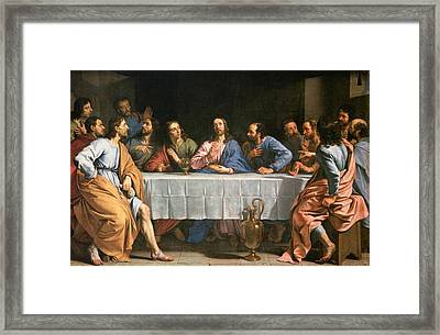 Last Supper  Framed Print by Philippe de Champaigne