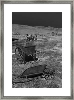 Lasting Relics Framed Print by Jon Glaser