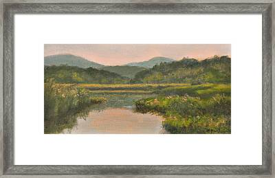 Late Afternoon Iona Marsh Framed Print by Phyllis Tarlow