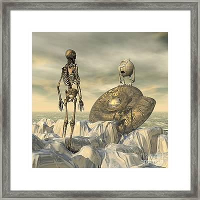 Late Recognition Framed Print by Diuno Ashlee