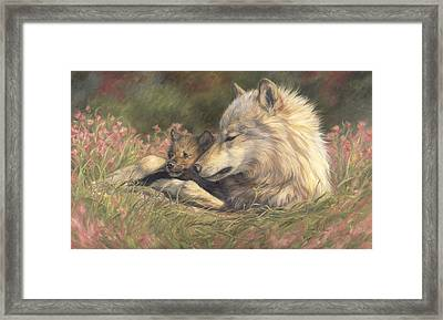 Late Spring Framed Print by Lucie Bilodeau