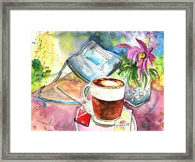 Latte Macchiato In Italy 01 Framed Print by Miki De Goodaboom