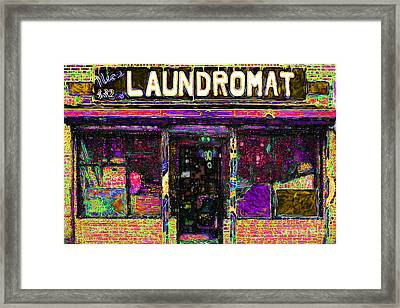 Laundromat 20130731p45 Framed Print by Wingsdomain Art and Photography