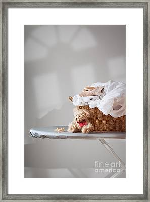 Laundry Framed Print by Amanda And Christopher Elwell