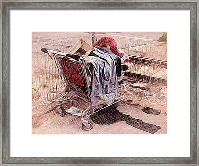 Laundry Day Framed Print by Dennis Buckman