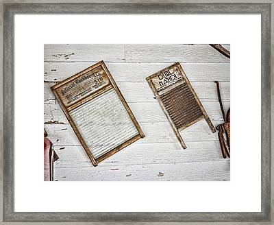 Laundry Day Framed Print by Heather Applegate