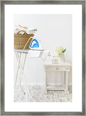 Laundry Room Framed Print by Amanda And Christopher Elwell