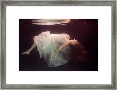 Laura Framed Print by Gabriela Slegrova