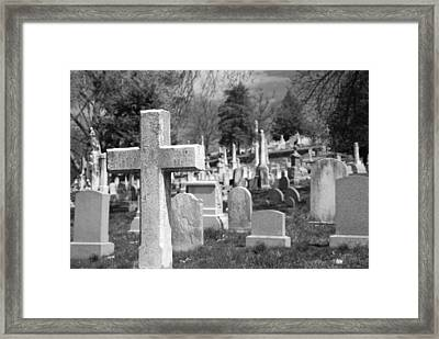 Laurel Hill Framed Print by Jennifer Ancker