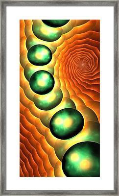 Lava Land Framed Print by Anastasiya Malakhova