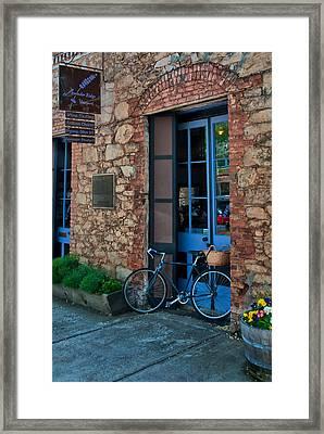 Lavender Ridge Framed Print by Thomas Hall Photography