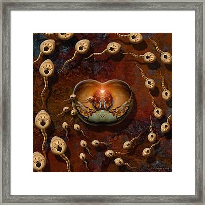 Laws Of Attraction 2 Framed Print by WB Johnston