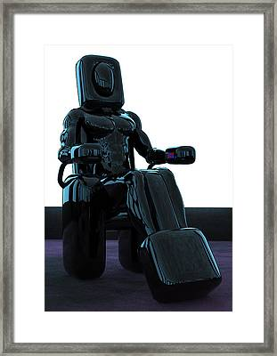 Laz-ee-boy Framed Print by Matthew Nutland