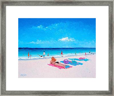 Lazy Day Framed Print by Jan Matson