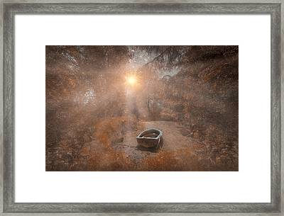 Lazy Haze Framed Print by Jason Green