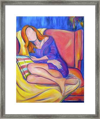 Lazy Sunday Framed Print by Debi Starr