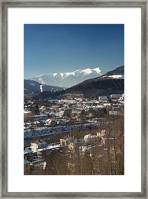 Le Framed Print by Antonio Castillo