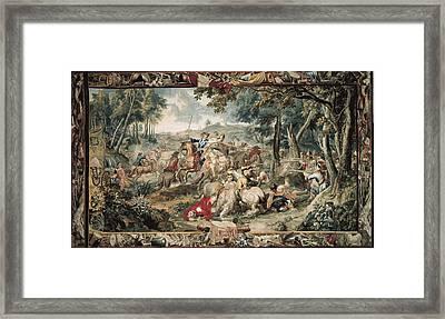 Le Clerc, J�r�me  17th C.. Ambush Framed Print by Everett