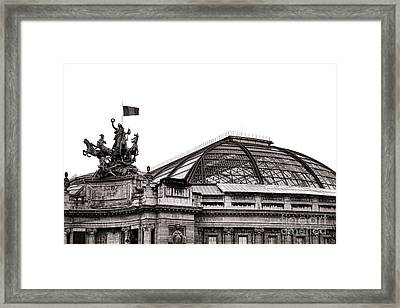 Le Grand Palais Framed Print by Olivier Le Queinec