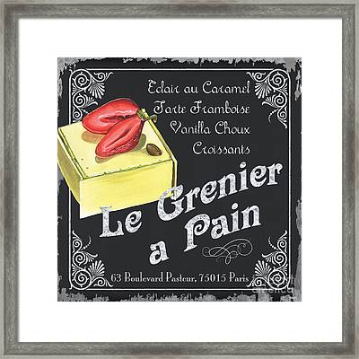Le Grenier A Pain Framed Print by Debbie DeWitt