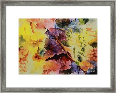 Le Magie D' Automne Framed Print by Maria Hunt
