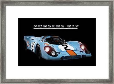 Le Mans King Framed Print by Peter Chilelli