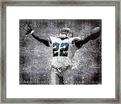 Leader Of The Cowboys Framed Print by Bobby Zeik