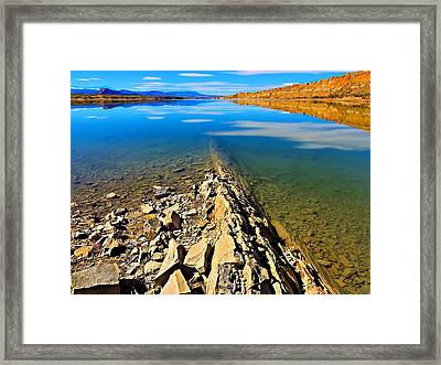 Leading Lines Framed Print by Laura Ragland