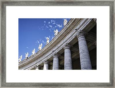 Leading Upwards Framed Print by Joan Carroll