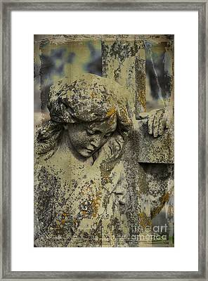 Lean On Me Framed Print by Terry Rowe