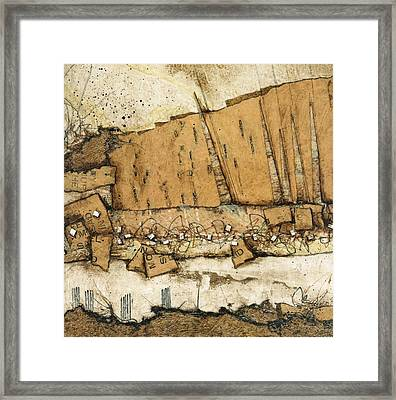 Leaning Towards Tomorrow Framed Print by Laura  Lein-Svencner