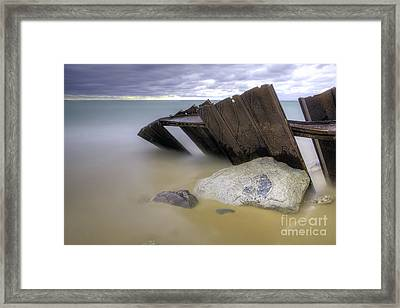Leaning Walls  Framed Print by Twenty Two North Photography