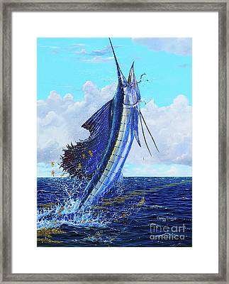 Leap Of Freedom Off0048 Framed Print by Carey Chen