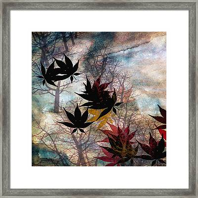 Leaves Framed Print by Bob Orsillo