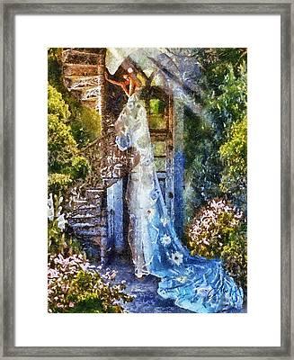 Leaving Wonderland Framed Print by Mo T