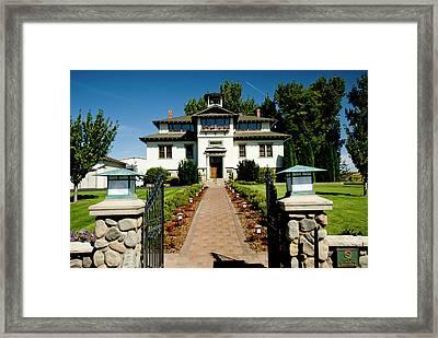 L'ecole 41 Winery, Walla Walla Framed Print by Nik Wheeler
