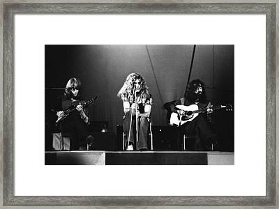 Led Zeppelin 1971 Framed Print by Chris Walter