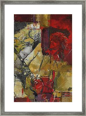 Led Zeppelin Framed Print by Corporate Art Task Force