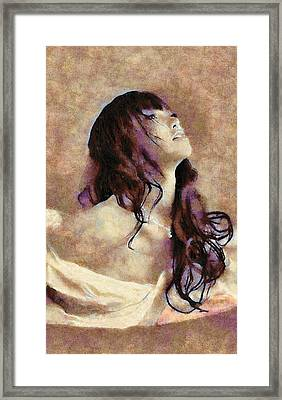 Leda Framed Print by Viktor Savchenko